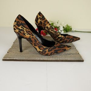Marc Fisher Leopard Print  Stiletto Heels